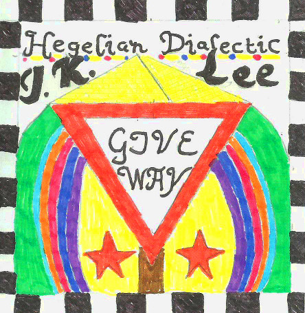 Front cover for the album Hegelian Dialectic